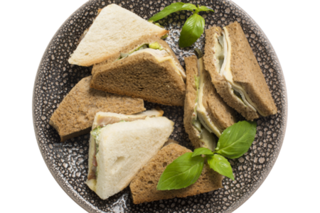 Набор клаб сэндвичей мясной для пикника