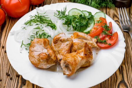 Шашлык из курицы