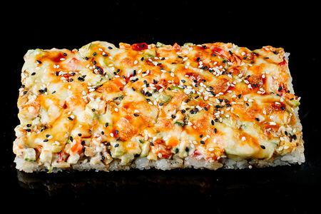Пицца-ролл с крабом
