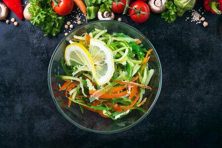 Салат Чука с овощами