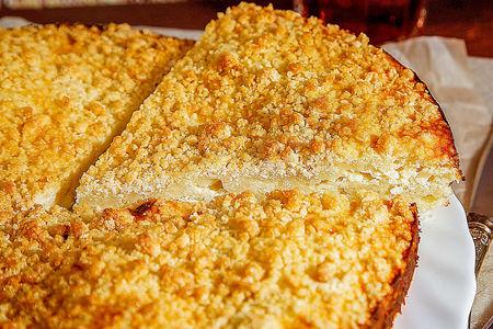 Пирог Творожное чудо