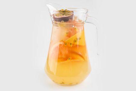 Грейпфрут и маракуйя лимонад