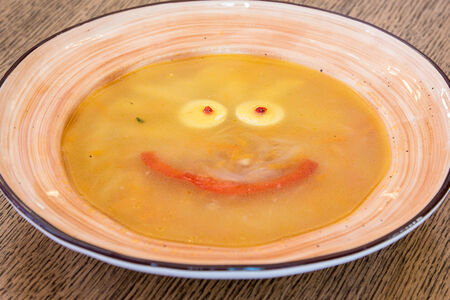 Суп с буковками