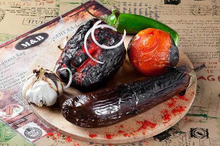 Овощи на мангале