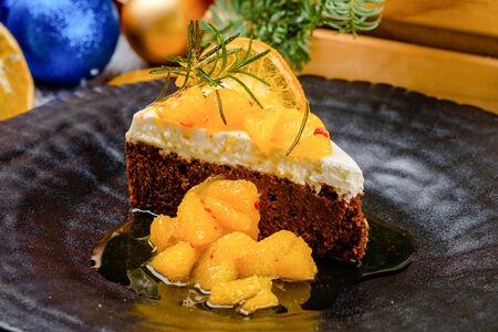 Пивной торт с кремом из овечьего сыра