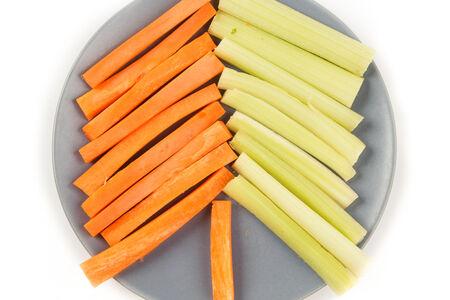 Микс из моркови и сельдерея