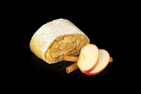 Веганский штрудель яблочный с корицей