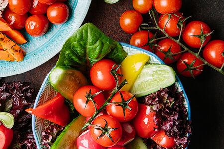Овощная миска
