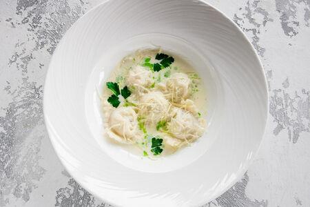 Равиоли с лососем