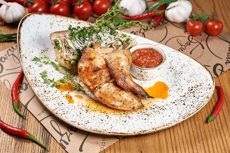 Филе цыпленка на гриле