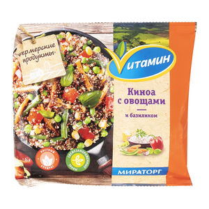 Смесь «Мираторг» киноа-овощи-базилик