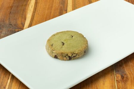 Печенье матча-шоколад