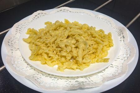 Макароны отварные с маслом