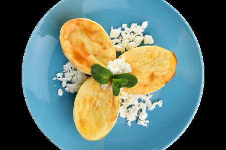 Мини-запеканка с творожным сыром