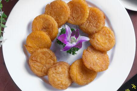 Тыквенное тесто с фасолью, десерт