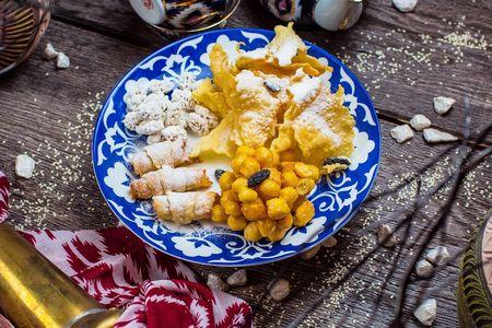 Домашние узбекские сладости