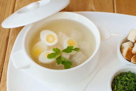 Суп Куриный бульон