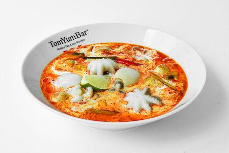 Суп Том Ям Морские гады