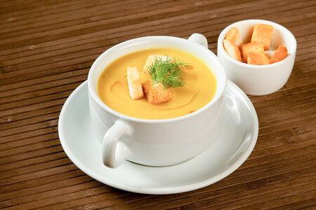 Суп Чечевичный с сухариками