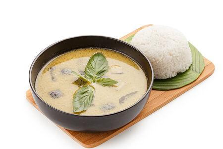 Суп Зеленый карри