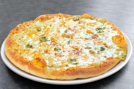 Пицца Четыре сыра маленькая