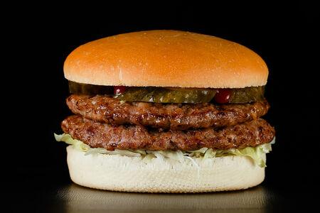 Гамбургер Дабл c говядиной