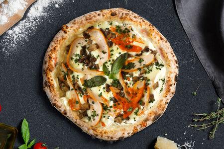 Пицца Грибная с цыпленком