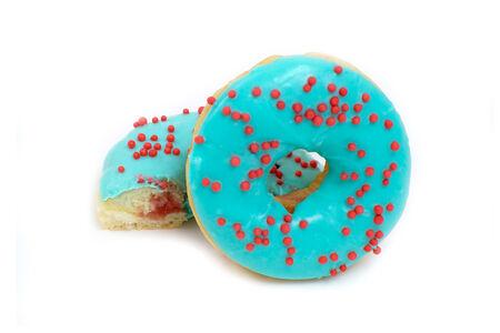 Пончик Морозная клюква