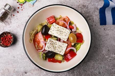 Салат Большой Греческий с сыром фета