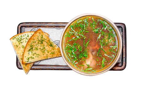 Суп с фрикадельками блэк ангус