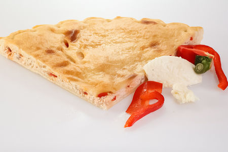 Пирог с курицей и болгарским перцем