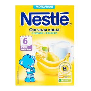 Nestle овсяная груша-банан с 6 мес.