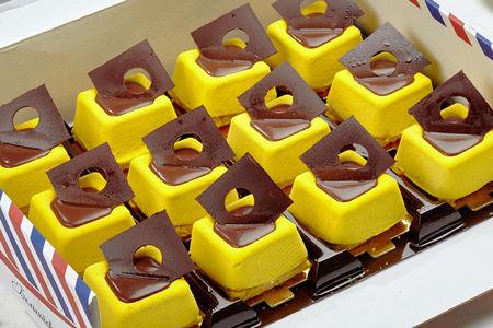 Пирожное Шоколад-Банан