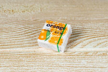 Жевательная резинка Апельсин