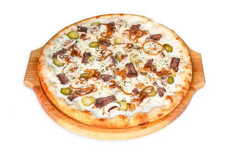 Пицца Сливочная с говядиной (Халяль)