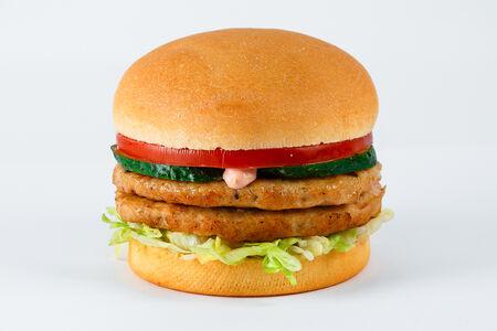 Гамбургер Дабл c курицей