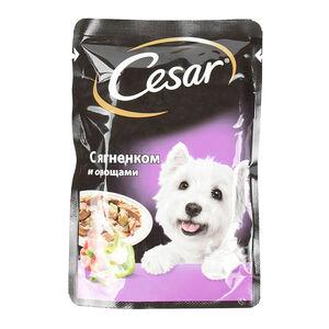 Cesar пауч ягненок-овощи