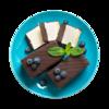 Фото к позиции меню Пирожное Суфле традиционное с шоколадом от шеф-кондитера Ав