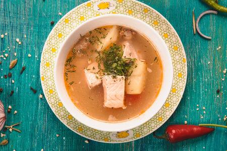 Суп Балык шурва