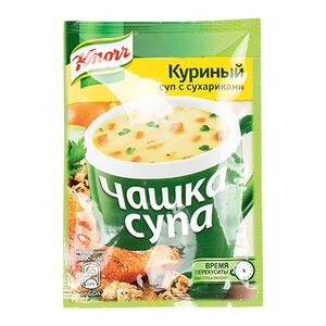 Knorr «Чашка супа» курица-сухарики