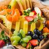Фото к позиции меню Корзина с сезонными фруктами