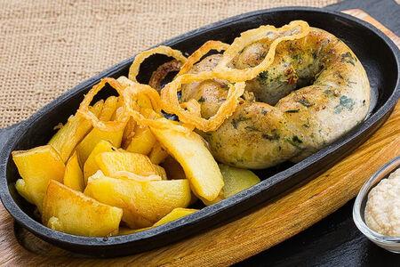 Домашняя колбаса куриная