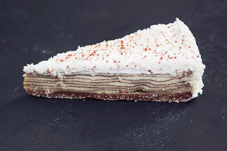 Торт Наполеон  органический кешью крем
