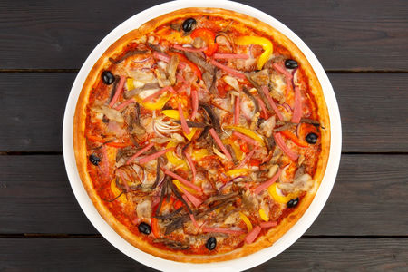 Пицца Сто процентов мяса