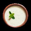 Фото к позиции меню Холодный суп с мятой и огурцом