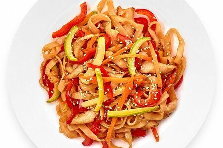 Вок с китайским соусом