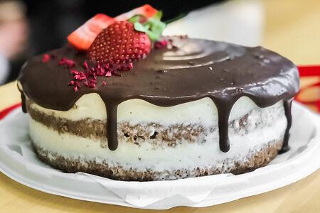 Десерт Шоколадно-банановый