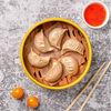 Фото к позиции меню Пельмени Цзяо цзы с курицей