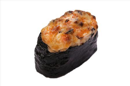 Суши Запеченный шиитаке