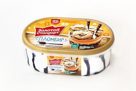 Мороженое Золотой стандарт Суфле